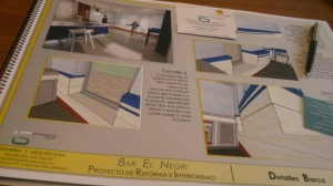 Proyecto de reforma e interiorismo de restaurante torre mar malaga
