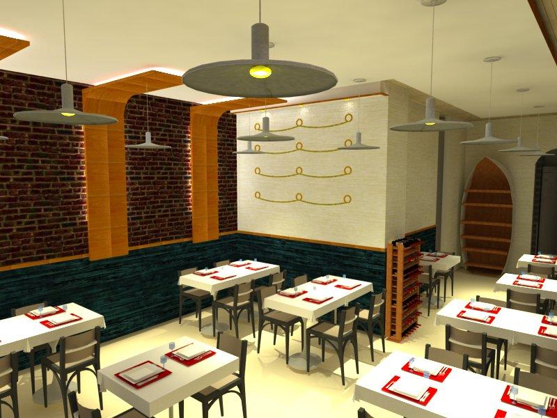 Proyecto de reforma e interiorismo de restaurante